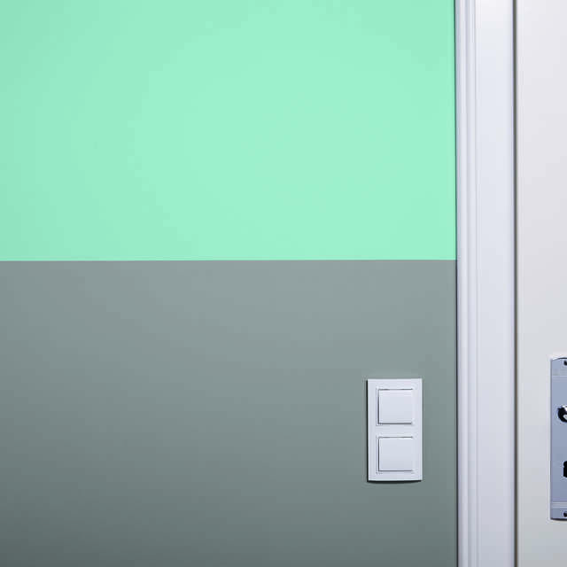 Zweifarbige Wände: Saubere Farbkanten anfertigen - Alpina Farben