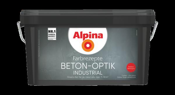 Alpina Farbrezepte BETON-OPTIK - Alpina Farben