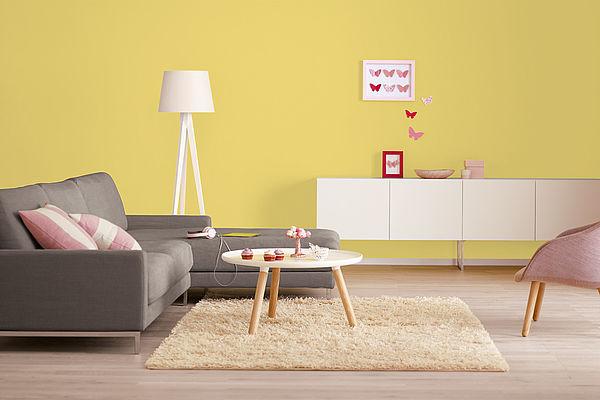 Alpina Farbrezepte Innenfarbe Sonnenstrahl - Alpina Farben