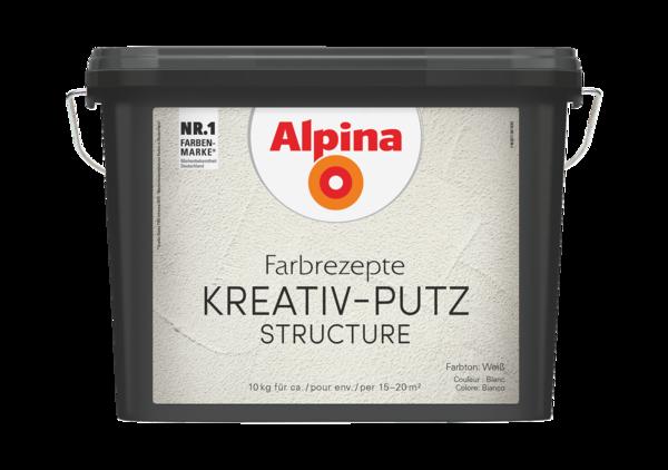 Alpina Farbrezepte KREATIV-PUTZ - Alpina Farben