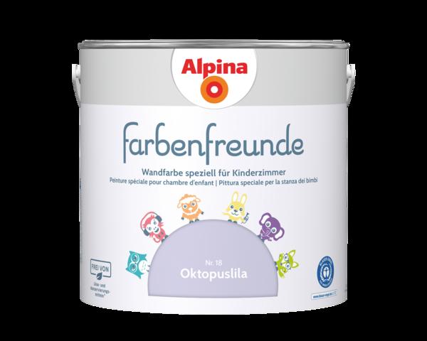 Alpina Farbenfreunde Nr. 18 Oktopuslila - Alpina Farben