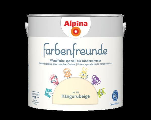 Alpina Farbenfreunde Nr. 01 Kängurubeige - Alpina Farben