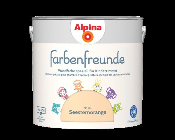 Alpina Farbenfreunde Nr. 03 Seesternorange - Alpina Farben