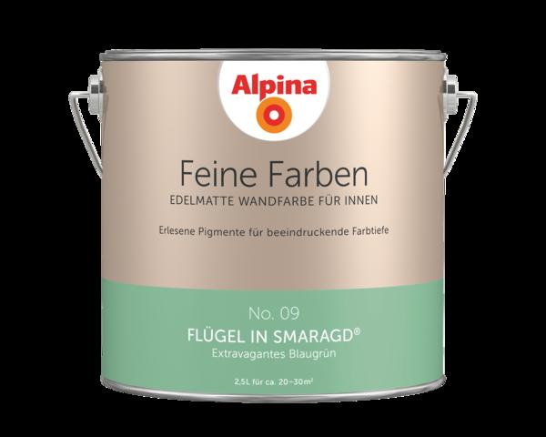 Alpina Feine Farben No. 09 Flügel in Smaragd - Alpina Farben