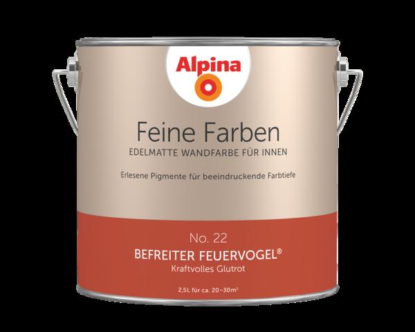 Alpina Feine Farben No. 22 Befreiter Feuervogel - Alpina Farben