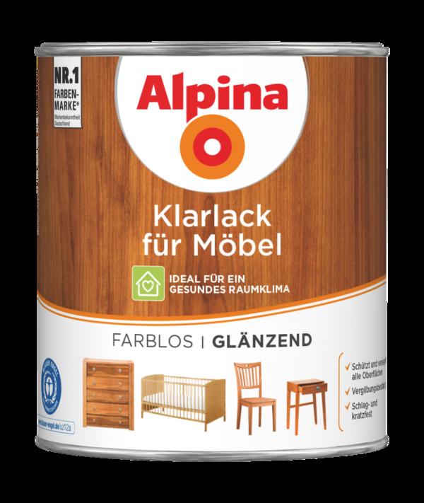 Alpina Klarlack für Möbel - Alpina Farben