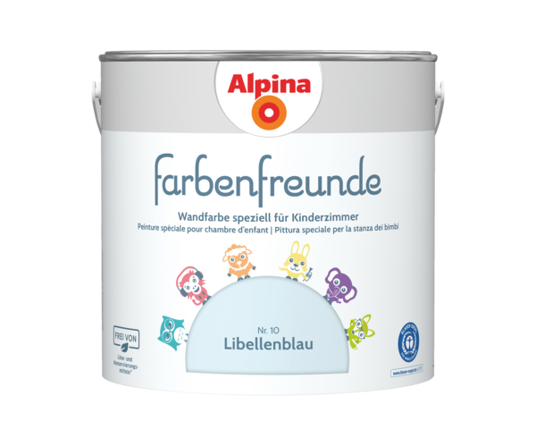 Alpina Farbenfreunde Nr. 10 Libellenblau - Alpina Farben