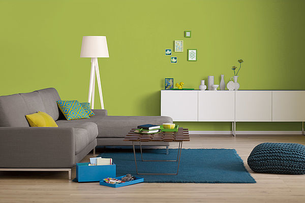 Alpina Farbrezepte Innenfarbe Frühlingswiese - Alpina Farben