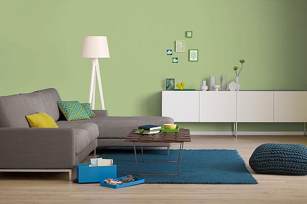 Alpina Farbrezepte Innenfarbe Grüne Poesie - Alpina Farben