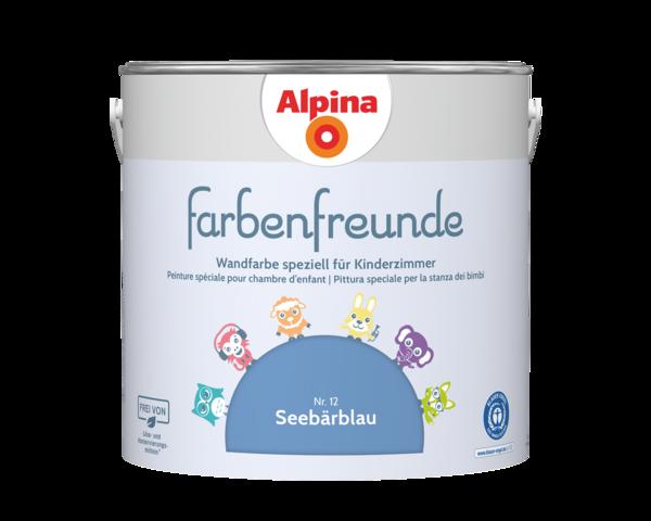 Alpina Farbenfreunde Nr. 12 Seebärblau - Alpina Farben