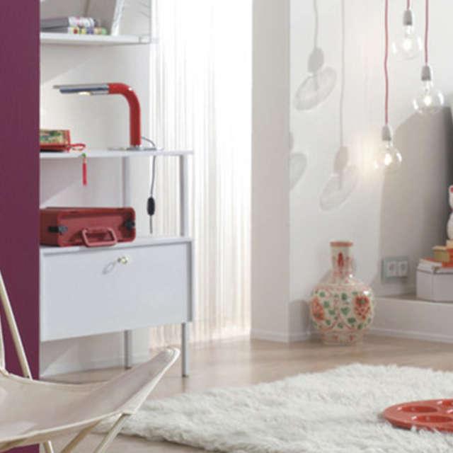 Weiß mit bunten Farben kombinieren - Alpina Farben