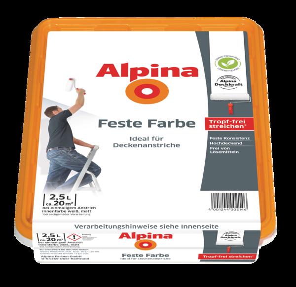 Alpina Feste Farbe Matt - Alpina Farben