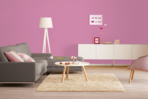Alpina Farbrezepte Innenfarbe Party Pink - Alpina Farben