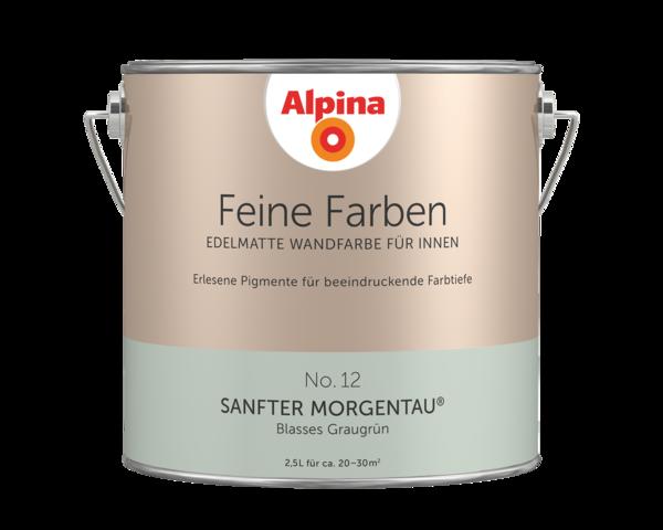 Alpina Feine Farben No. 12 Sanfter Morgentau - Alpina Farben