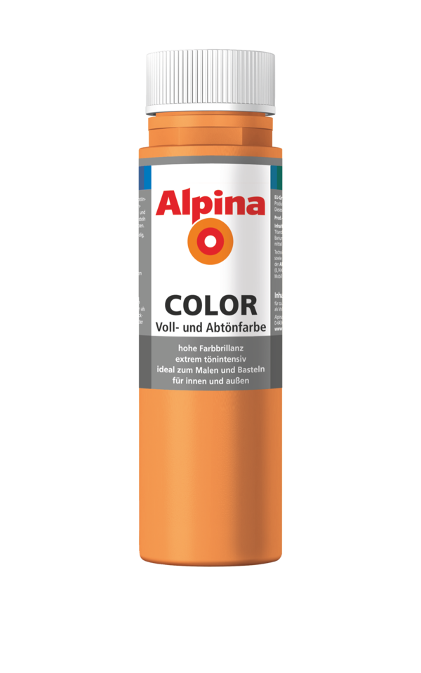 Alpina Color Fresh Orange - Alpina Farben