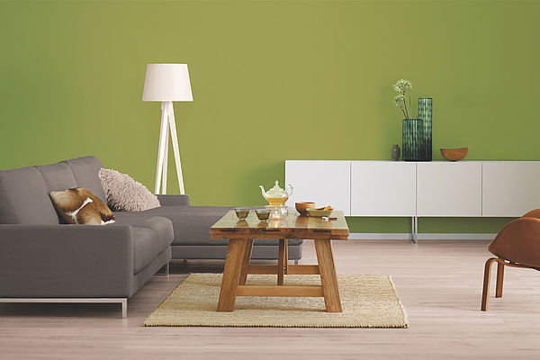 Alpina Farbrezepte Innenfarbe Olivenhain - Alpina Farben